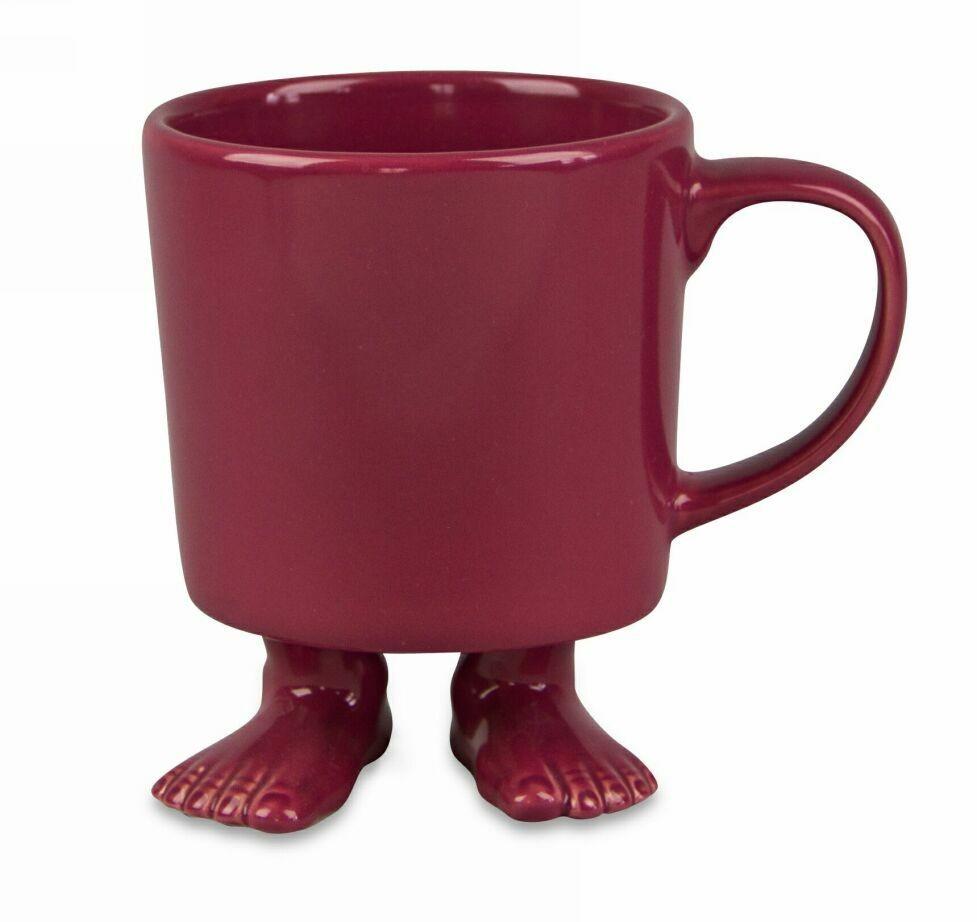 Кружка на ножках, пурпурная