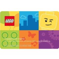 Подарочная карта Lego