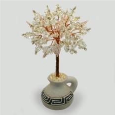 Дерево из горного хрусталя Гелиос