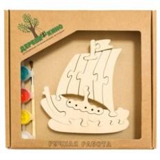 Развивающая игрушка Кораблик с красками