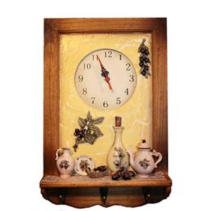 Коллаж-часы «Маслины»