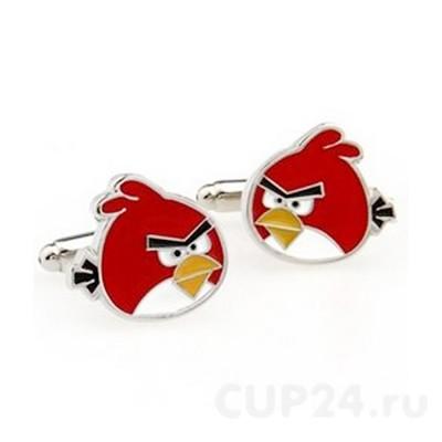 Запонки Angry birds