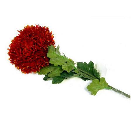 Цветок искусственный красный