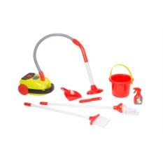 Игровой набор HTI Smart Тележка для уборки с пылесосом