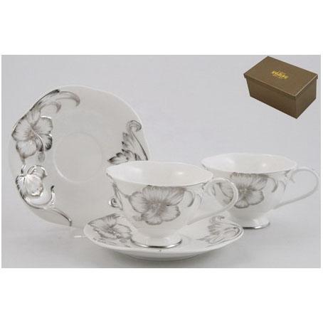 Чайный набор «София серебряная»