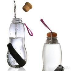 Эко-бутылка Eau good с фильтром (цвет: фиолетовый)