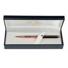 Черно-золотистая шариковая ручка La Geer