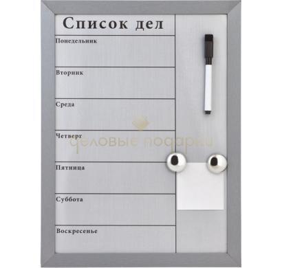 Доска для записей Тайм-менеджер, магнитная