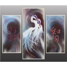 Картина Swarovski Триптих Счастье, 2139 кристаллов, 70х80