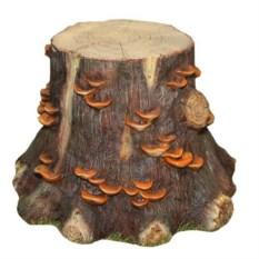Декоративное садовое изделие Пень с грибами