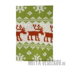 Обложка для паспорта Свитер с оленями