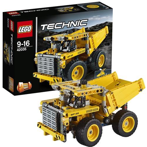 Конструктор - LEGO Technic Карьерный грузовик