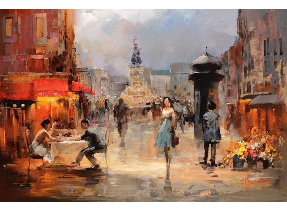 Картины по номерам «Городской пейзаж»