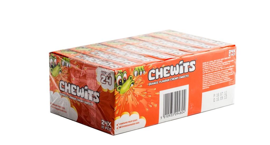 Конфеты Chewits Orange, 24 шт