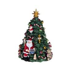 Интерактивное новогоднее украшение Елочка и Дед Мороз