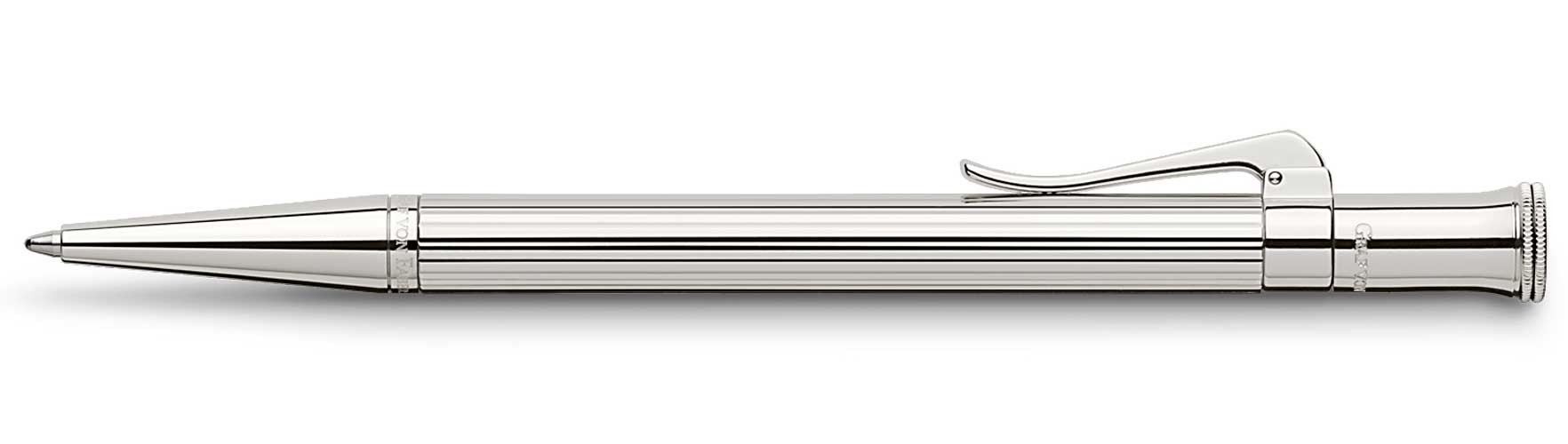 Шариковая ручка Faber-Castell Classic Sterling Silver