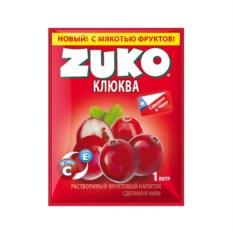 Растворимый напиток Zuko Зуко Клюква