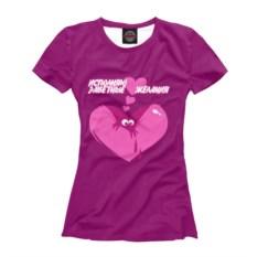 Женская футболка Исполняю тайные желания