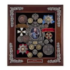 Средняя настенная ключница Александр III