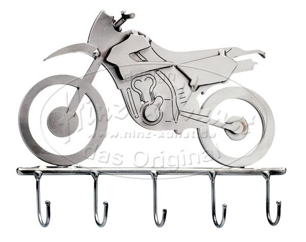 Статуэтка из металла Вешалка - Мотоцикл