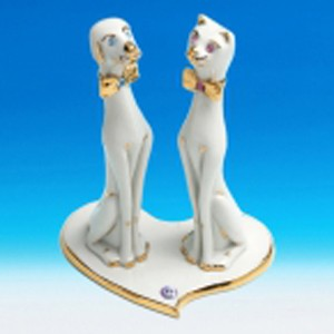 Статуэтка «Кот и Пёс»