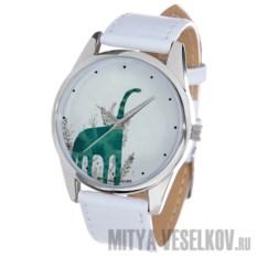 Часы Mitya Veselkov Зеленый динозавр
