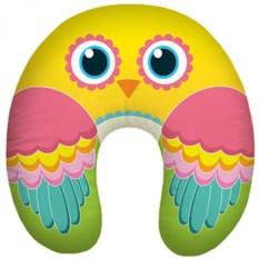 Желтая автомобильная подушка антистресс Птица счастья