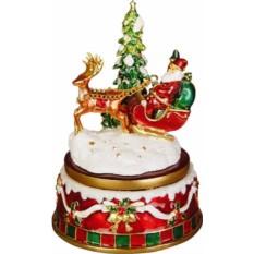 Рождественская музыкальная композиция с Дедом Морозом