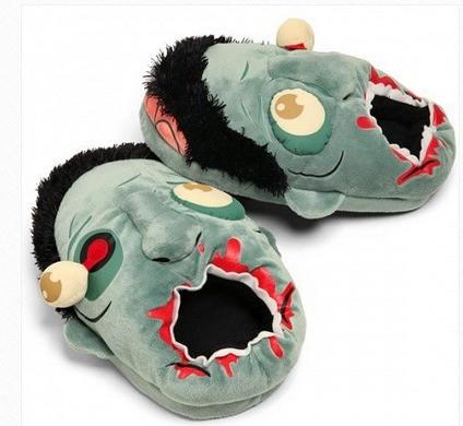 Тапочки-зомби «Накорми монстра»