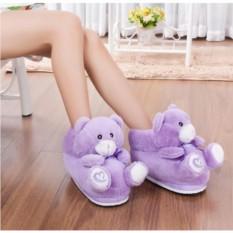 Плюшевые тапочки Teddy Bear