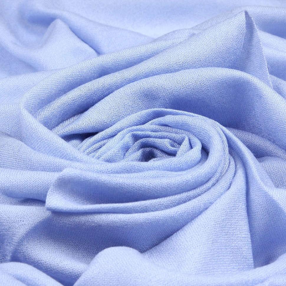 Стильный голубой зимний шарф Enrico Coveri