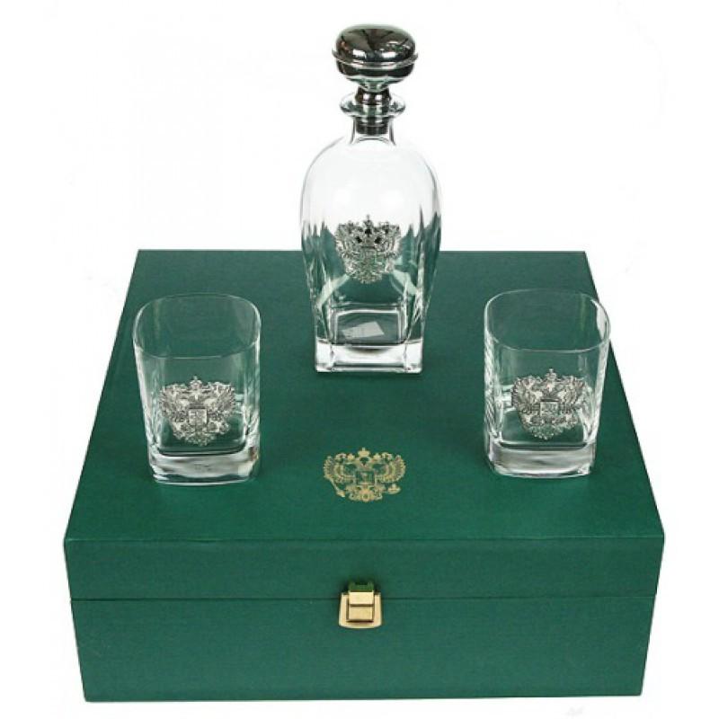 Подарочный набор для крепких напитков Герб России