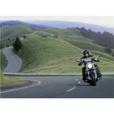 Обложка для автодокументов Мотоциклист