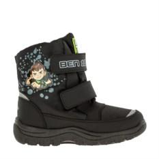 Черные сноубутсы для мальчиков Ben 10