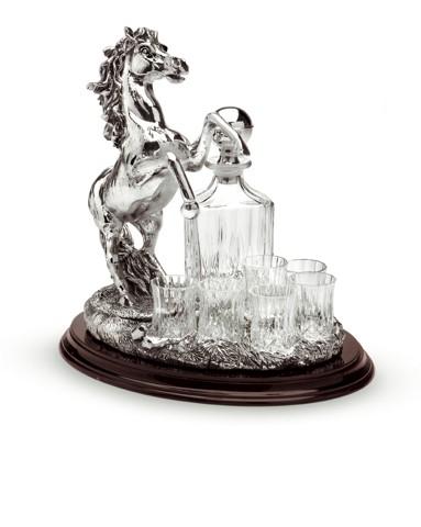 Подарочный набор для спиртного Лошадь