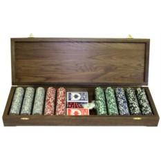 Игровой набор Играем в покер 500 фишек