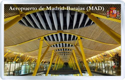 Аэропорт Бахарас (Мадрид, Испания). Код MAD.