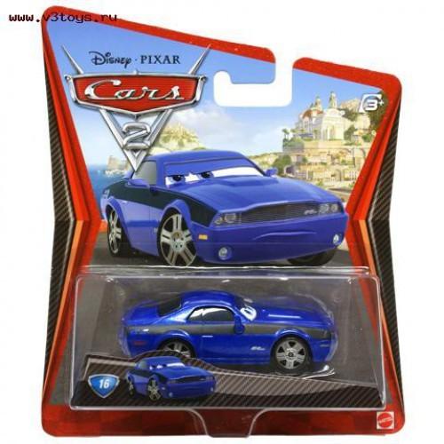 Машинка Шпионские штучки из мультфильма Тачки 2