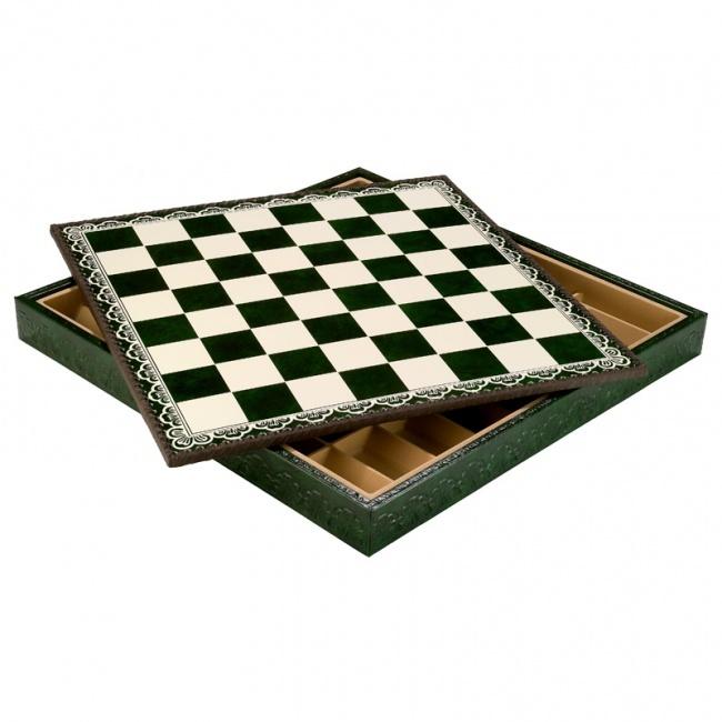 Шахматная доска с контейнером, 48х48 см