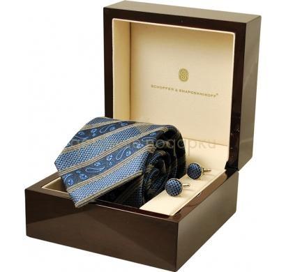 Подарочный набор (галстук, запонки) Schopfer & Shaposhnikoff