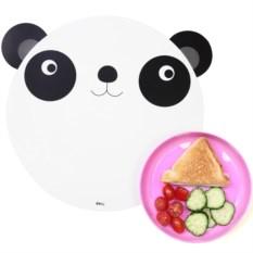 Коврик и миска Hungry panda