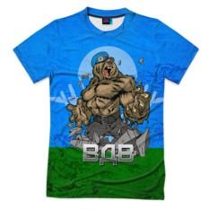 Мужская футболка 3D с полной запечаткой ВДВ