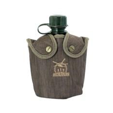 Фляга для напитков в чехле с мехом