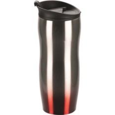 Кружка с термоизоляцией Порт Дю Солей серебристого цвета