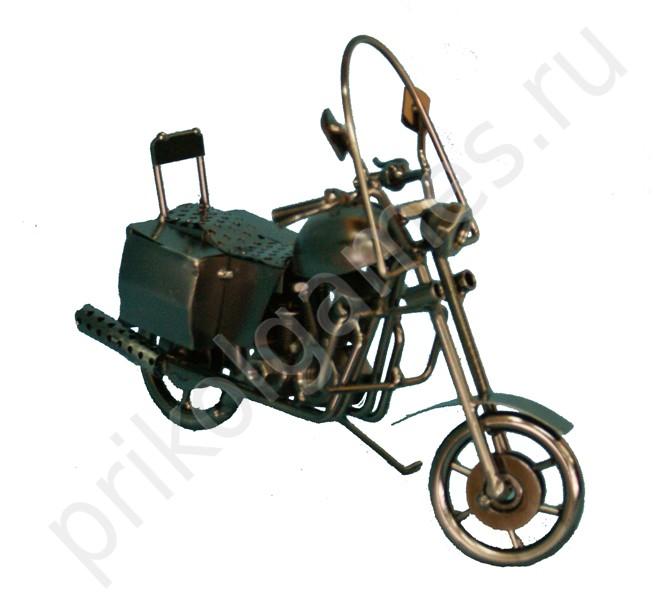 Фигурка металлическая Мотоцикл.