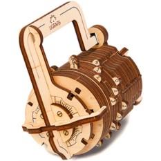 Механический 3D-конструктор Ugears «Кодовый замок»