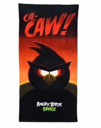 Махровое полотенце Angry Birds Space