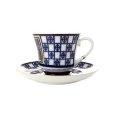 Чайная чашка с блюдцем, форма Банкетная, рисунок Львиный мостик