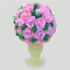 Цветы из малахита Малахитовая сказка