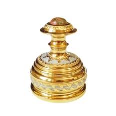Оснастка печати Яшма в золоте